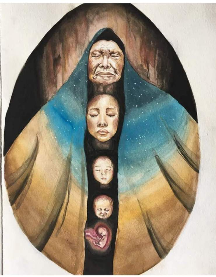 Grand mothers' prayer, by Anna Lee @Annaofthemeadow
